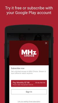 MHz Choice screenshot 2