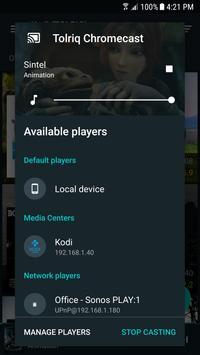 FireTV renderer plugin for Yatse screenshot 1