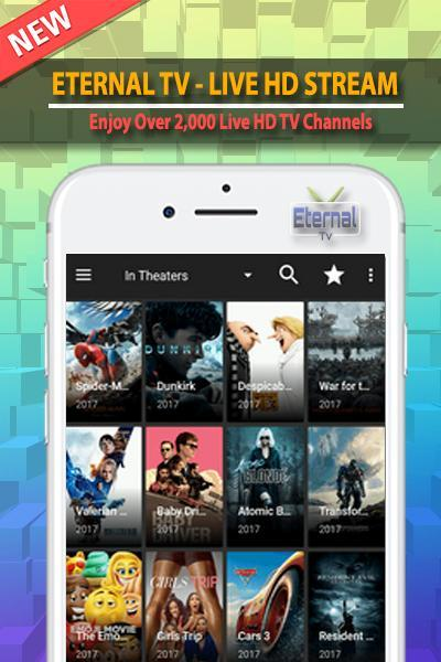 eternal tv app for android info for Android - APK