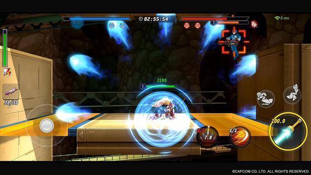 ROCKMAN X DiVE スクリーンショット 7