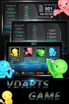 VDartsGame poster