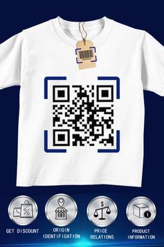 Lector de códigos QR  Y escáner de código QR captura de pantalla 1