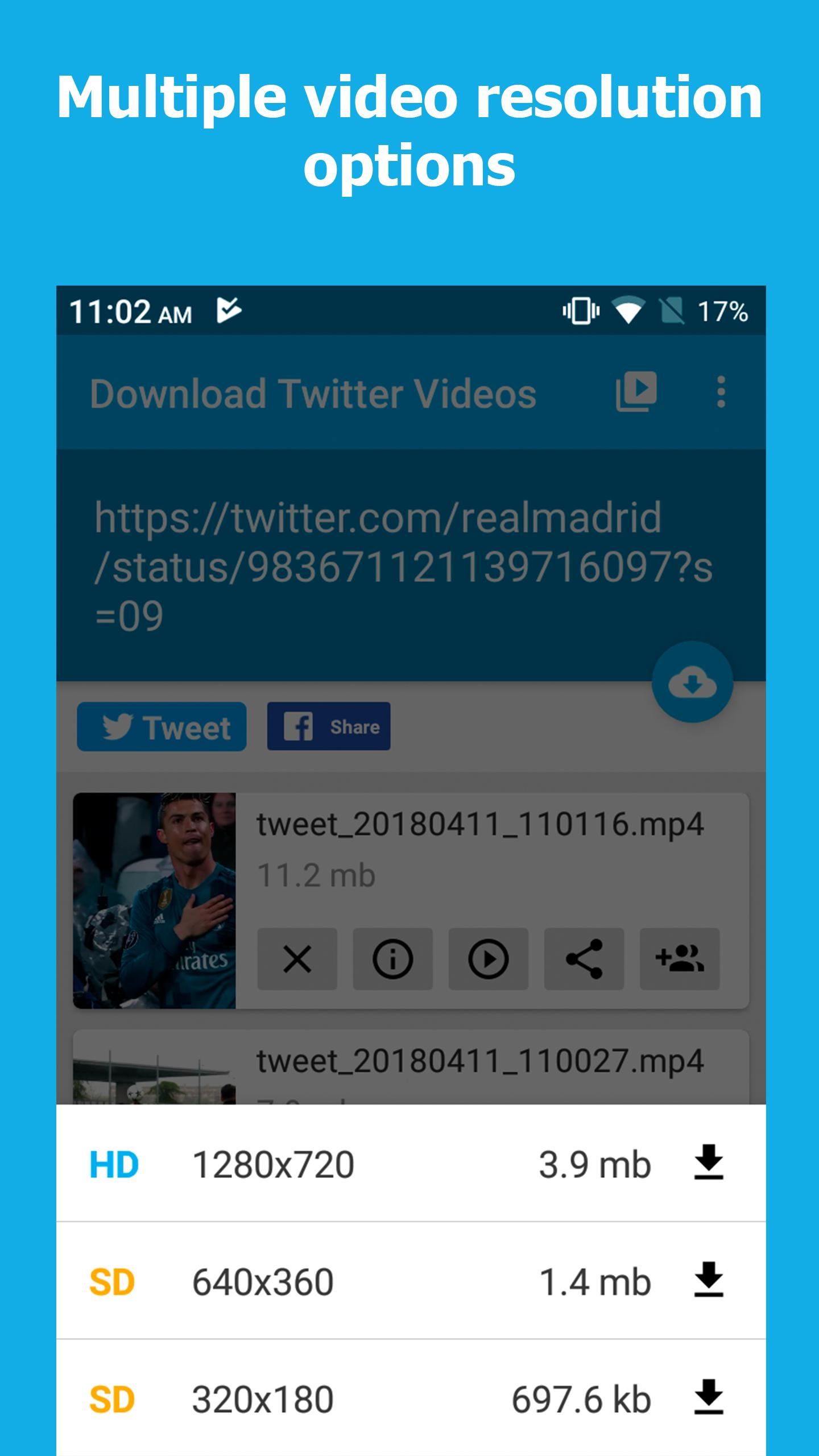 Download Twitter Videos for Android - APK Download
