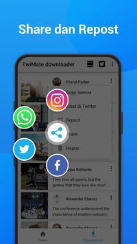 TwiMate - Simpan Video & Twitter GIF screenshot 5