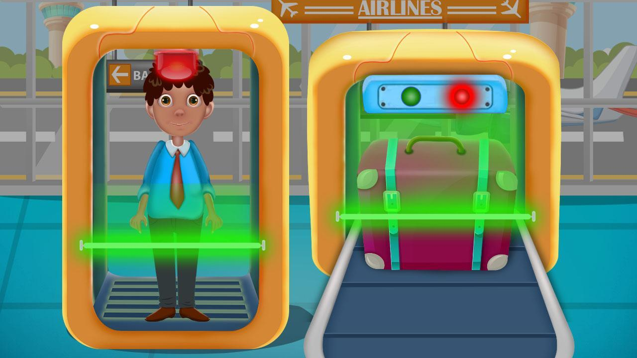 Airport Adventure-Kids Airport Scanner Plane Games for