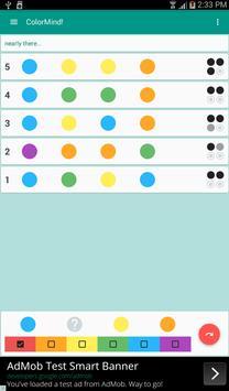 ColorMind! A mastermind puzzle screenshot 12