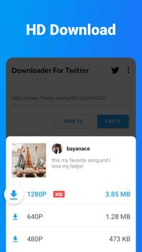 Downloader for Twitter - Download Tweet Video, GIF poster