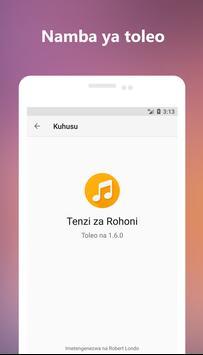 Tenzi za Rohoni screenshot 4