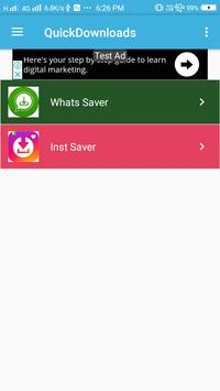 QuickDownloads screenshot 1