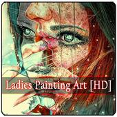 Ladies Painting Art [HD] icon