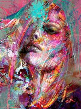 Ladies Painting Art [HD] screenshot 4