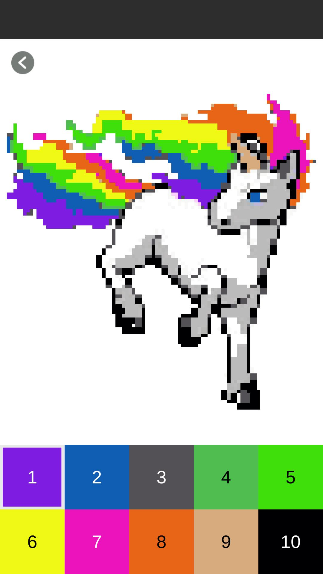 Unicorn Color By Number For Android Apk Download