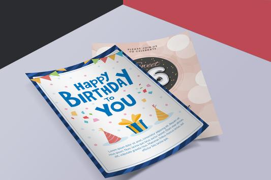 Birthday Card Maker | Birthday Wishes الملصق