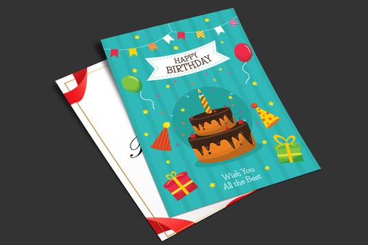 Birthday Card Maker | Birthday Wishes screenshot 5