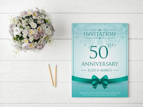 Invitation Card Maker | Greeting Card Maker poster
