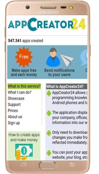 App Creator24 Make Official Dynamic App APK [9 1] - Download APK