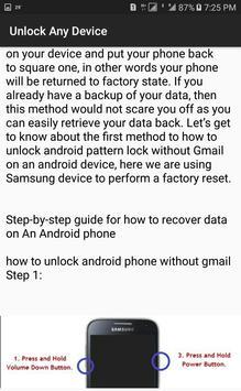Unlock Device's Techniques & Tricks 2019 screenshot 1
