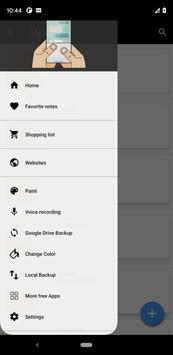 Notepad App تصوير الشاشة 1