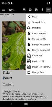 Notepad App تصوير الشاشة 20