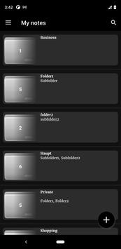 Notepad App تصوير الشاشة 22