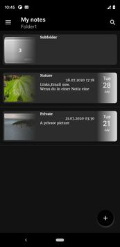 Notepad App تصوير الشاشة 23