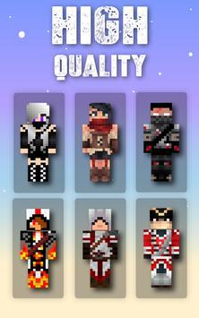 Skins Assassins for Minecraft screenshot 1