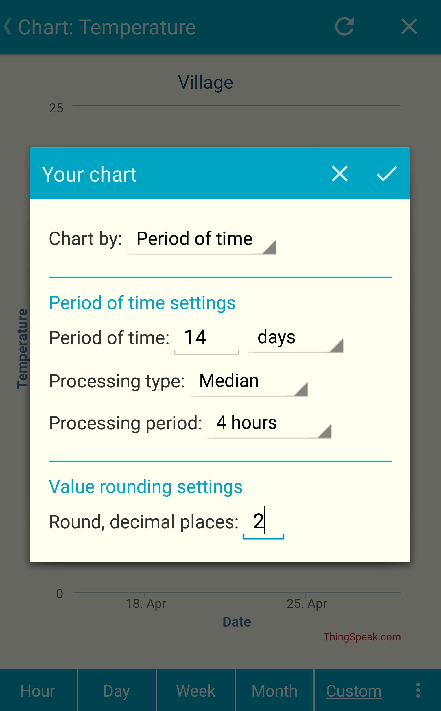 IoT ThingSpeak Monitor Widget for Android - APK Download