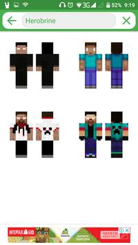 Best skins for Minecraft 1.0 screenshot 1