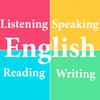 English Listening Speaking Reading Writing icono