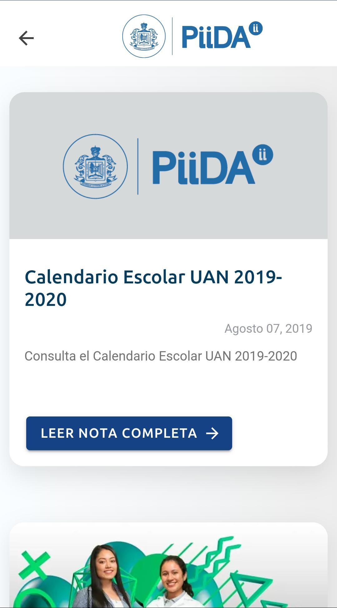 UAN PiiDA для Андроид - скачать APK
