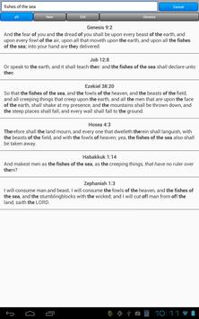 Holy Bible, King James Version screenshot 12