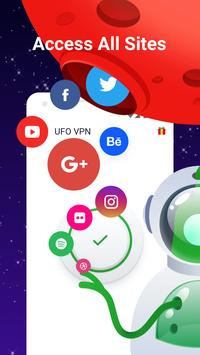 VPN:UFO VPN Basic, Free VPN, Master VPN, Proxy VPN screenshot 1