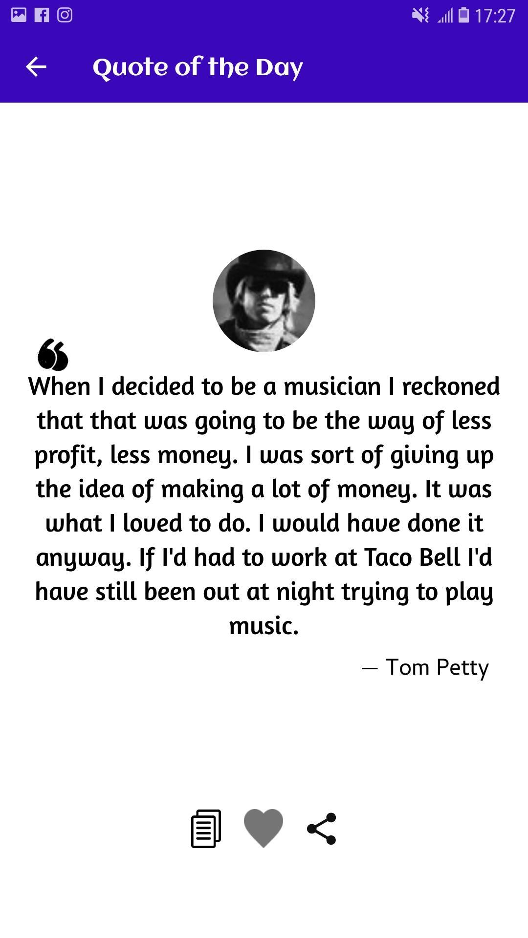 Tom Petty Quotes, Lyrics and Facts for Android - APK Download