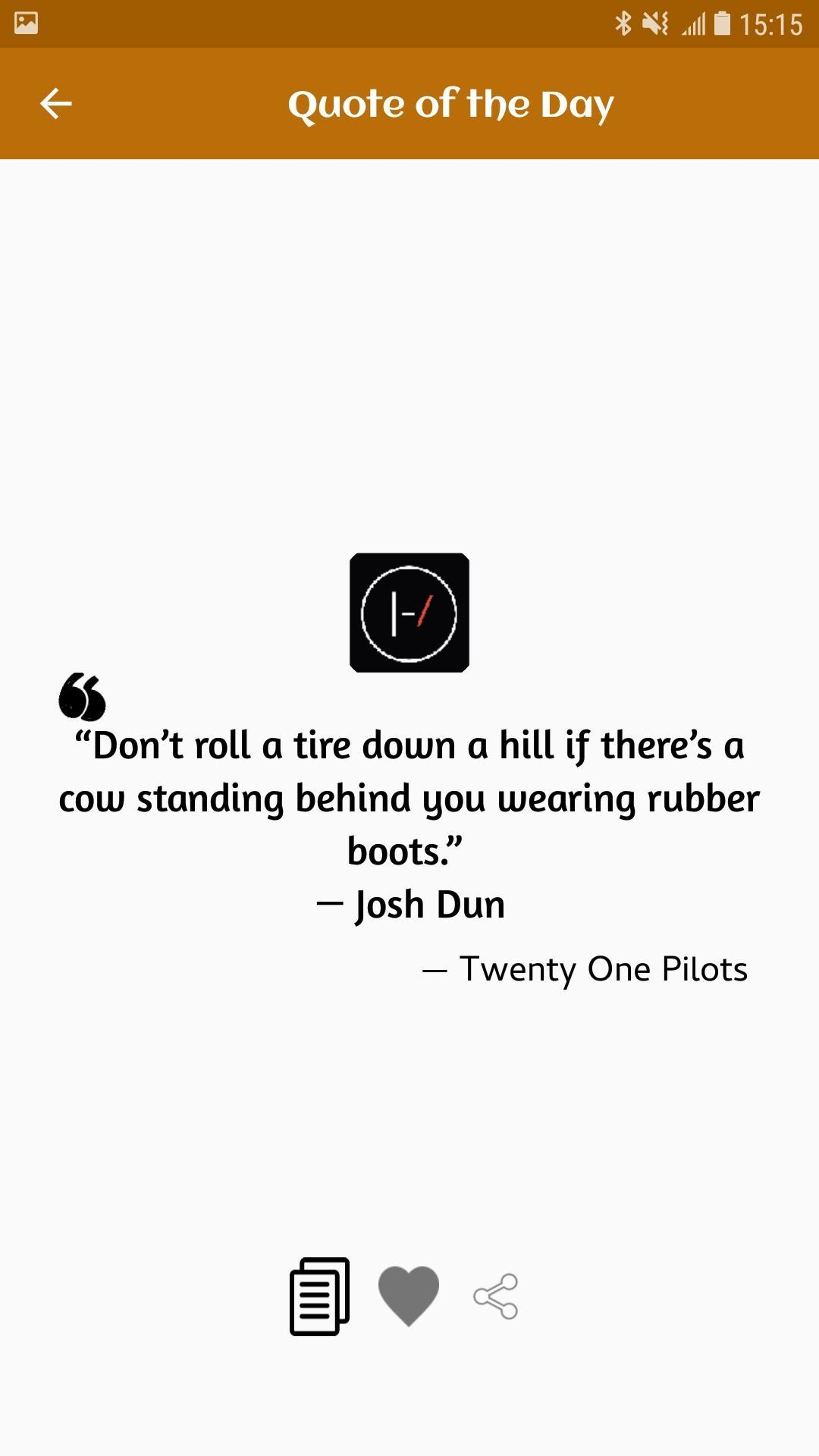 Twenty One Pilots Quotes, Lyrics and Facts for Android - APK ...