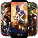 4K Superheroes Wallpapers - Live Wallpaper Changer APK