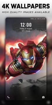 4K Superheroes Wallpapers - Live Wallpaper Changer poster ...