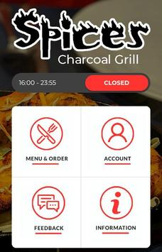 Spices Charcoal Grill poster
