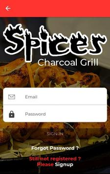 Spices Charcoal Grill screenshot 2