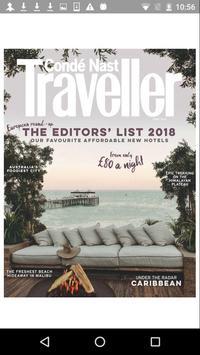 Condé Nast Traveller Magazine-poster