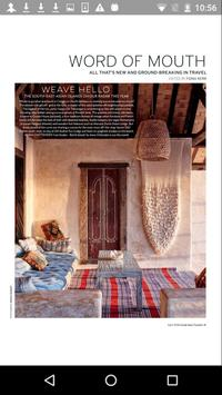 Condé Nast Traveller Magazine screenshot 1