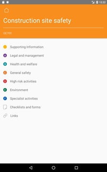 CITB Health Safety and Environment Publications screenshot 6