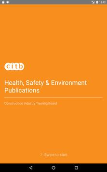 CITB Health Safety and Environment Publications تصوير الشاشة 9