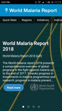 World Malaria Report poster