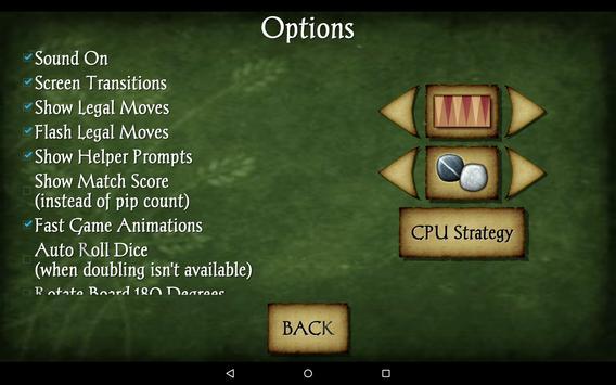 Backgammon Free screenshot 13