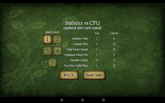 Backgammon Free screenshot 15