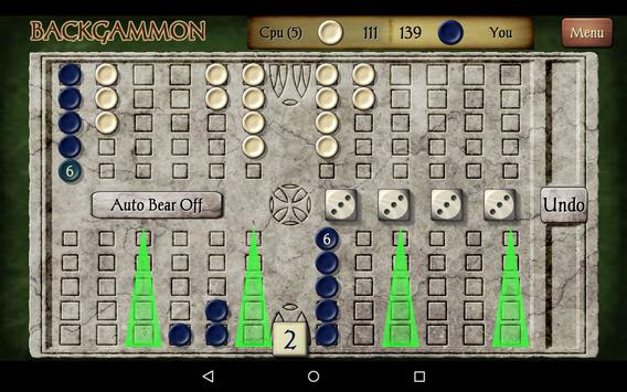Backgammon Free screenshot 18