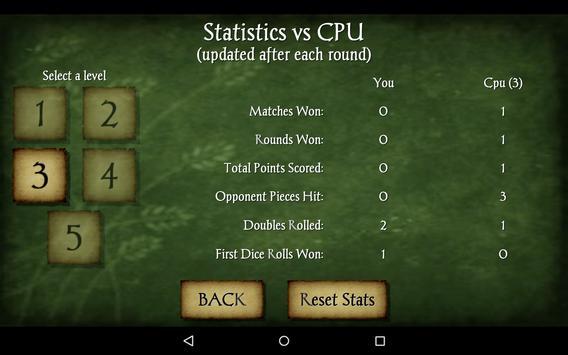 Backgammon Free screenshot 23