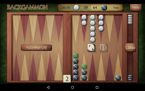 Backgammon Free screenshot 20