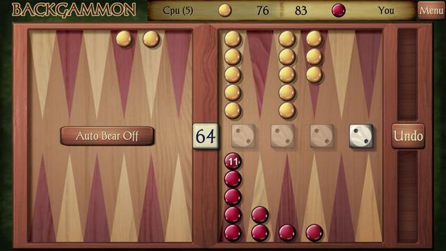 Backgammon Free screenshot 2