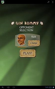 Gin Rummy Free captura de pantalla 11